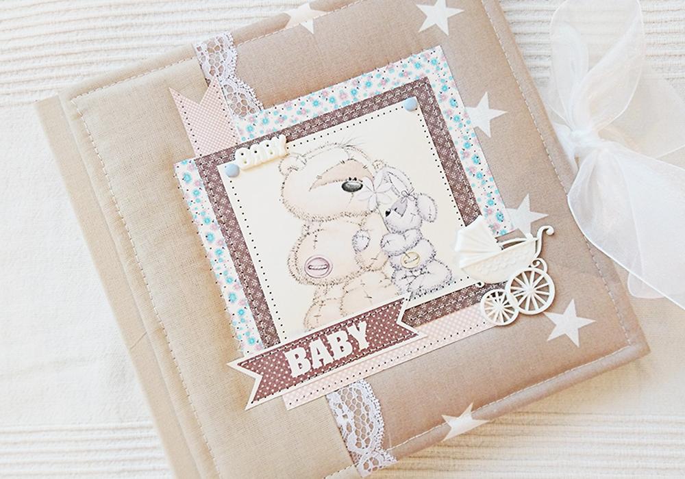 фотоальбомчик для малышей